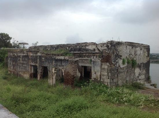 Nanded, Indien: neglected fort