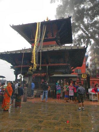 Temple de Swayambunath : manokamana Devi temple of Nepal situated in high place
