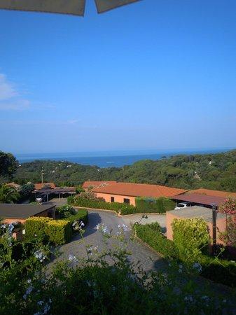 Residence Belvedere : Vista dalla piscina