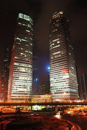 The Ritz-Carlton Shanghai, Pudong: Hotel exterior