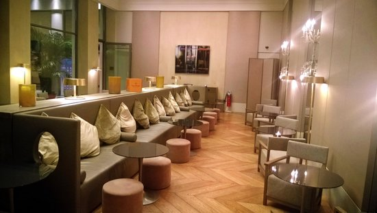 Starhotels Rosa Grand: Saletta