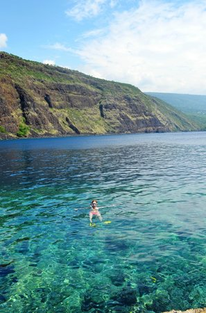 Kealakekua Bay: Snorkeling at the bay