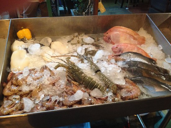 Danny's Bar Restaurant 44: Selection of Seafood