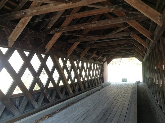 Creamery Covered Bridge: Vehicle Portion of Bridge