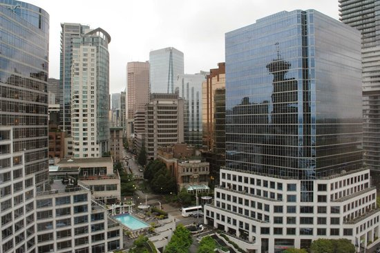 Pan Pacific Vancouver: View from a city view room