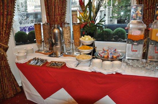 Montana Hotel: Le buffet