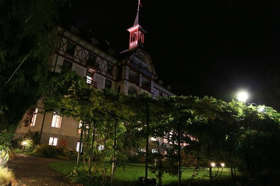 Hotel Vitznauerhof in notturna