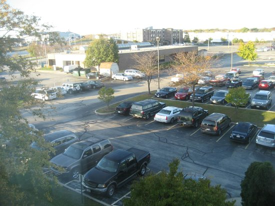Clarion Hotel Airport : view from my room