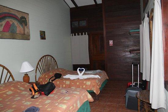 Pachira Lodge: vista de la habitacion
