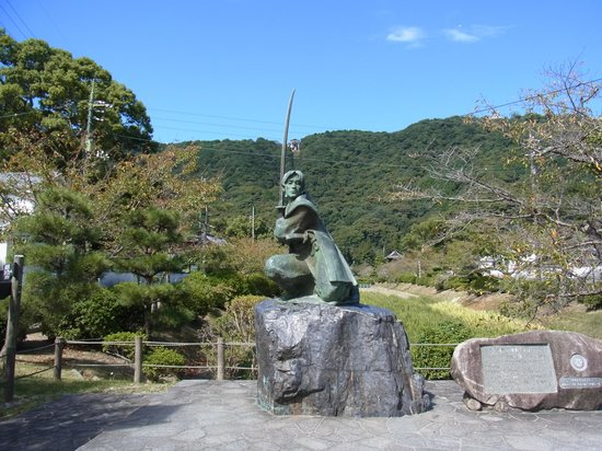 Statue of Sasaki Kojiro