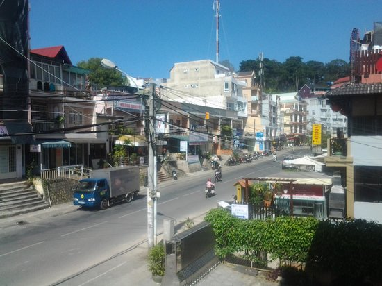Trung Cang Hotel: view from balcony