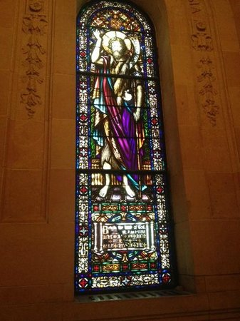 Basilica of St. Mary: Stain glass panel