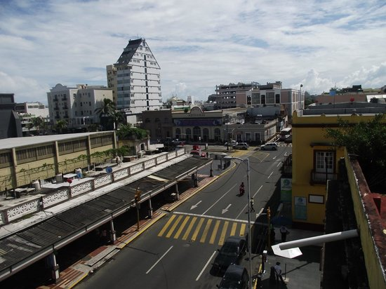 Hotel & Suites Oriente: VIEW FROM BALCONY