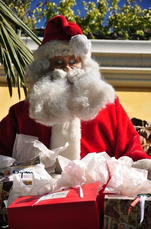 Studio City Court Yard Hotel: the real santa
