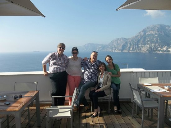 Casa Angelina : Group photo with view