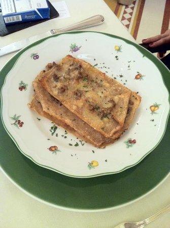 Fiorfiore Restaurant : Mitiche lasagnette