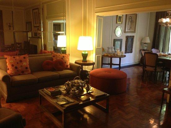 B&B Plaza Italia : LIving Room