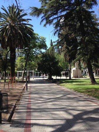 B&B Plaza Italia : The plaza across the street
