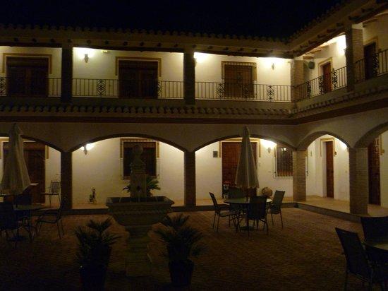 El Amparo at night