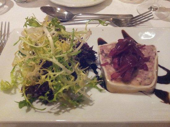 Deerfields Restaurant: Ham terrine