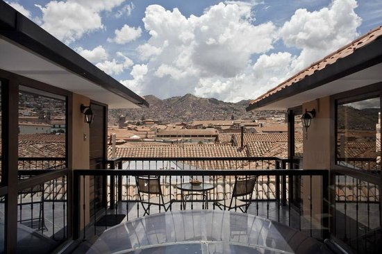 Tierra Viva Cusco Plaza: View from Lobby