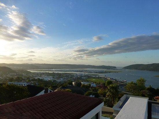 Atlantic Guest House: Vue sur le lagon au petit matin