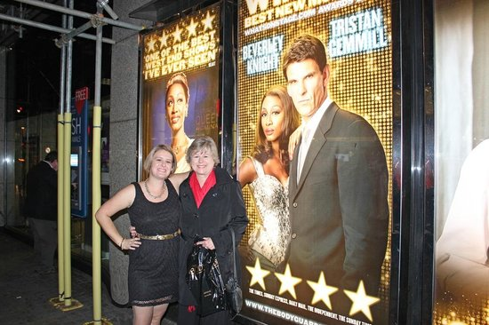 West End Theatre District : The Bodyguard, the best play we saw in London!
