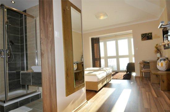 Hotel Wienerwaldhof: Panoramazimmer mit Dusche