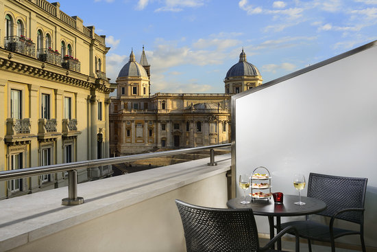 Hotel Commodore Roma : Room with private terrace