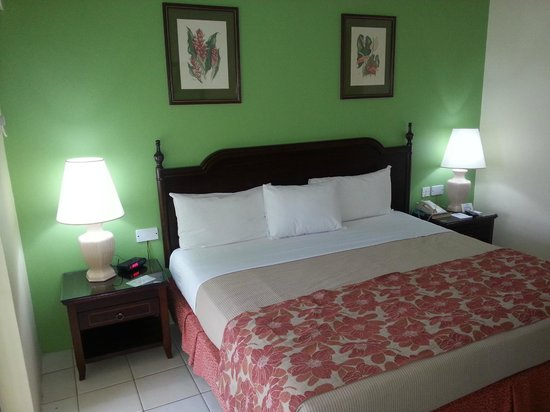 Bay Gardens Hotel: Literie