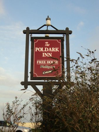 The Poldark Inn: Sign