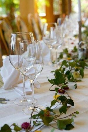 Hotel Wienerwaldhof: Hochzeitstafel