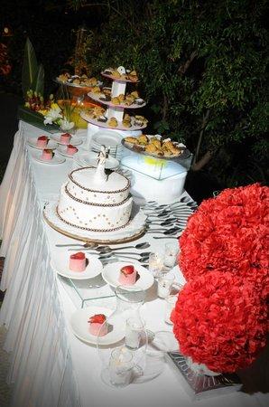 Villa Ganz : Mesa de pastel - Boda