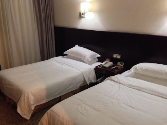 Airport Express Hotel Chengdu: Bedroom