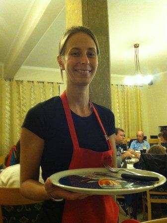 Pizzeria La Romantica Centro: Wonderful staff!