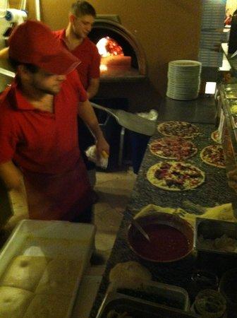 Pizzeria La Romantica Centro: The Chef's!