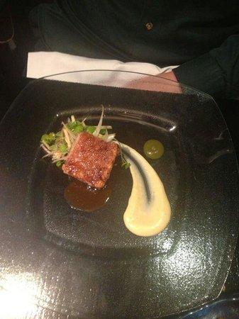 West Restaurant : Pork Belly with Potato Puree...