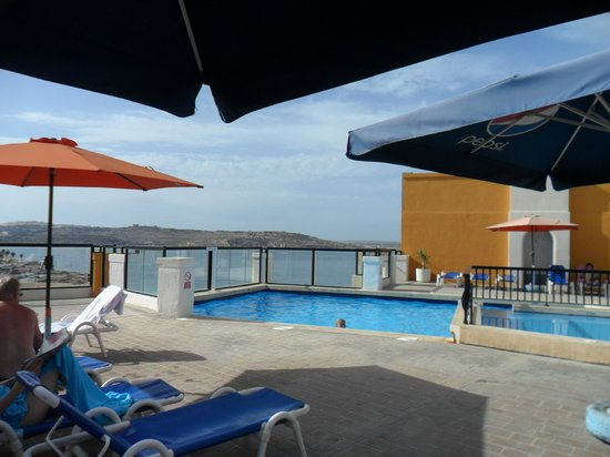 Sunseeker Holiday Complex: another of pool on roof (it has great views and a snack bar and bar)