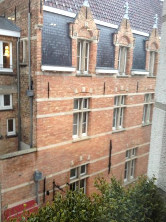 Hotel Prinsenhof Bruges: View