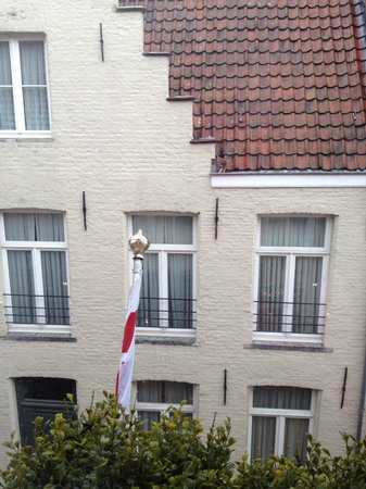 Hotel Prinsenhof Bruges: View from the room