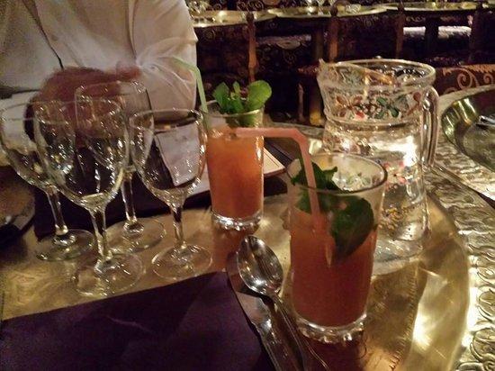 Le Sirocco: Cocktail maison (alcoolisé)