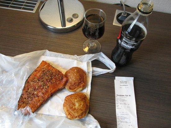 Scandic Strand: My Impromptu Dinner - Yummmmmmm!