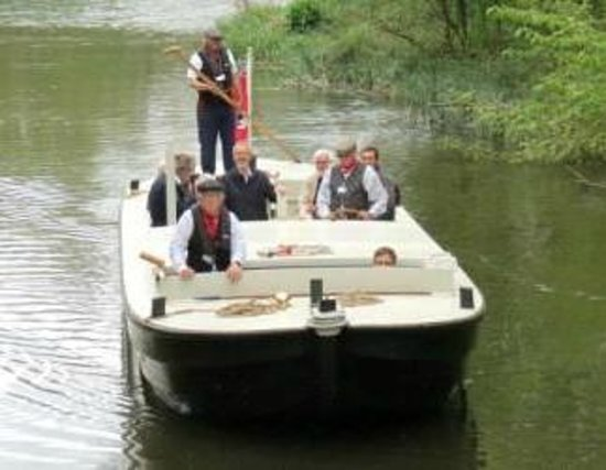 River Stour Trust Boat Trips: Our restored Stour Lighter, John Constable at Sudbury