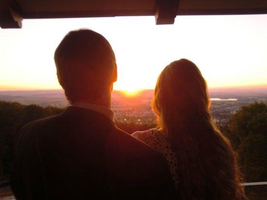 Sonnenuntergang vom Wieterturm..