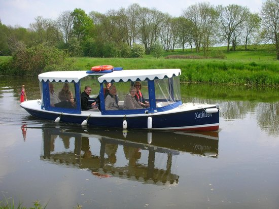 River Stour Trust Boat Trips: Kathleen is one of our electric boats