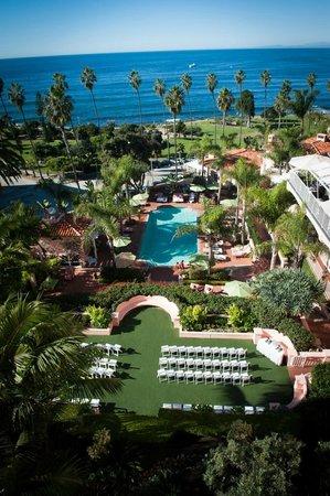 La Valencia Hotel: La V Wedding, October 2013