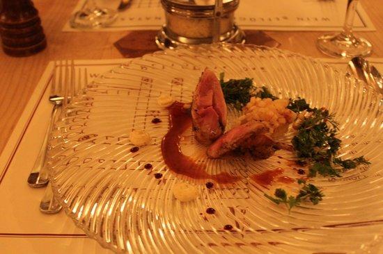 Vinothek by Geisel : Starter: Quail - taste very good