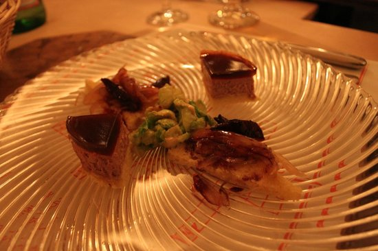 Geisel's Vinothek: Starter: duck liver - above average