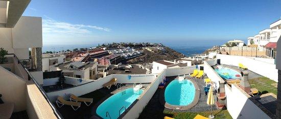 Mirador Del Mar Villas: view from the 1st floor