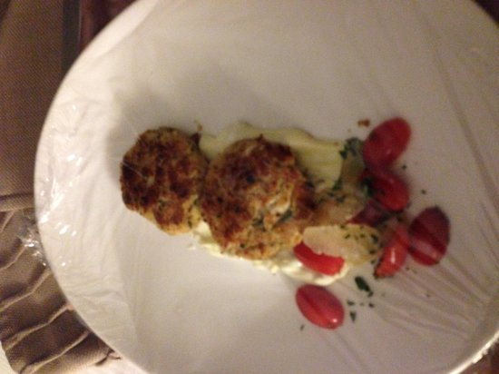 Fairmont Chicago Millennium Park: 14.99 crabcakes that cost $24 after delivery charge and the added gratuity